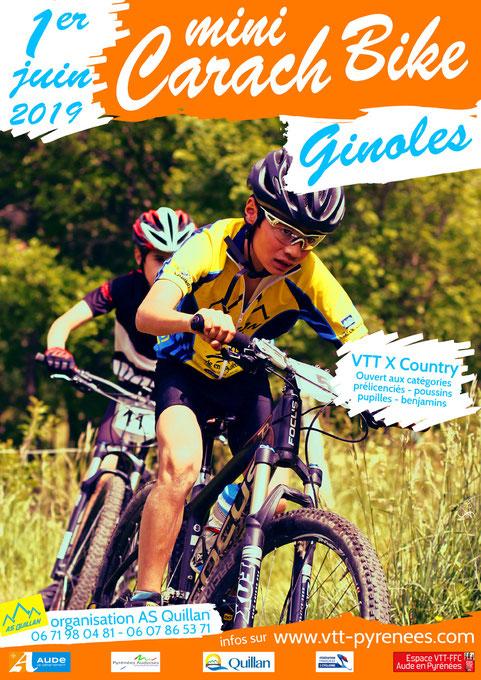 Mini Carach Bike 2019 - AS Quillan - Ginoles