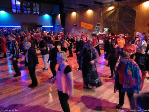 Bal Yeeha dans la grande salle à Station Danse, Vitry/Seine