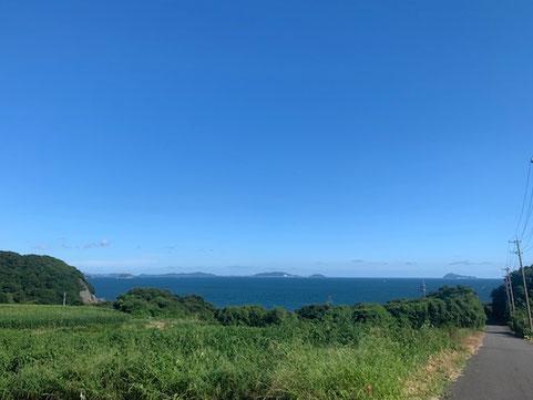 夏らしい空と海です✨