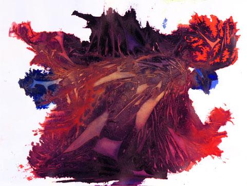 sans titre #17, dim. 46 x 61 cm, 2021