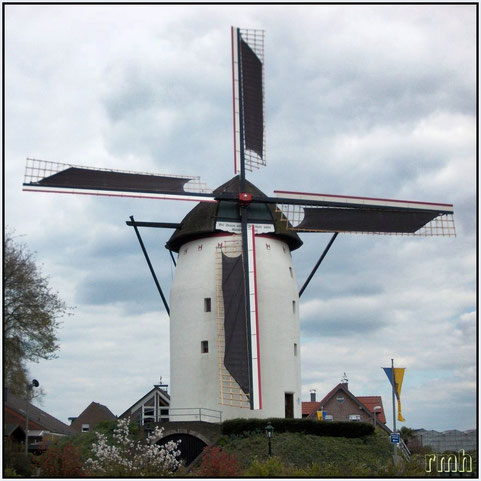 Steprather Mühle, oldest fully operating windmill in Germany from 16th century