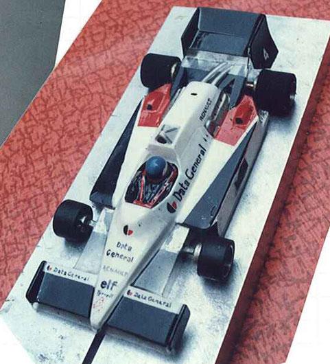 La Tyrrell peinte par Serge Vuillemin
