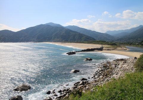 Kishira coast beach / plage de Kishira