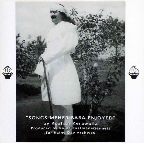 """ Songs Meher Baba Enjoyed "" Front cover"