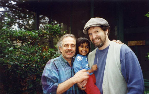 Jeff with Daniel & Saroja Stone