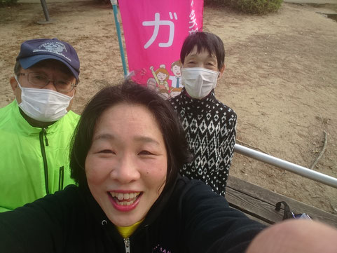 2019年3月16日鈴の森公園笑いヨガ(ラフターヨガ)