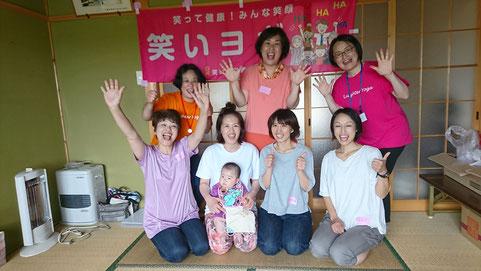 2019年6月4日神戸神館神明社で笑いヨガ(ラフターヨガ) 三重県松阪市