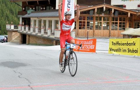 Sieger bei den Herren: Wolfgang Hofmann - Fotoquelle Facebook/WalterAndre; sportfotos-andre.at