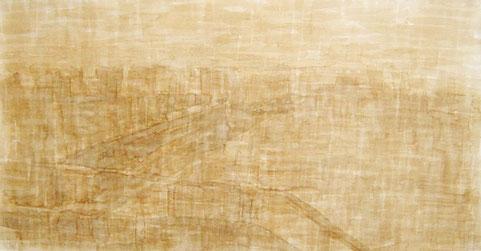 Hafen-Landschaft 2005 60 x 80 cm, Tusche auf Papier