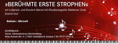 Die neue Konzertreihe von und mit Waldemar Grab