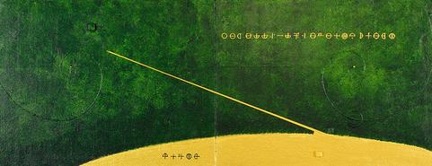 GrEEn LAND 10    820mm×318mm   F6×2   Acrylic, wood   2018