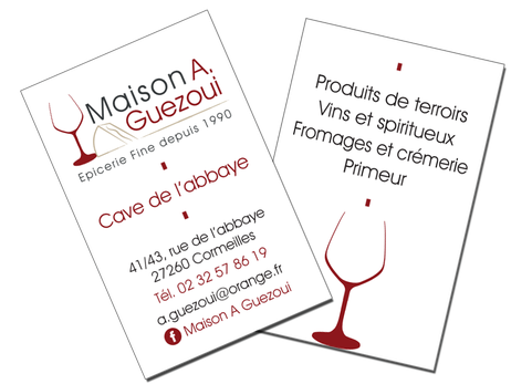 Maison Guezoui Cormeilles- Logo&Co Communication Cancale