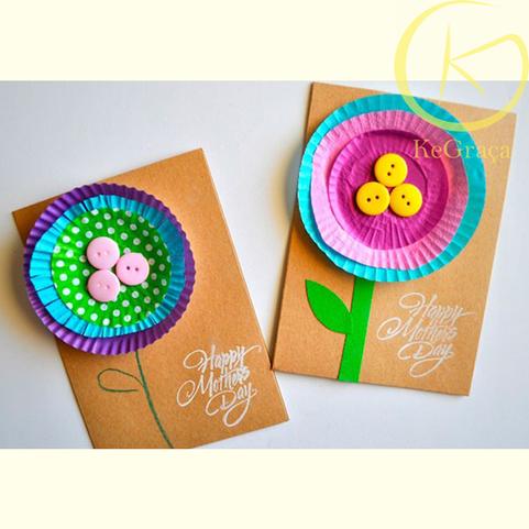 Met KeParty vormpjes kan je mooi en creative kaarten maken.