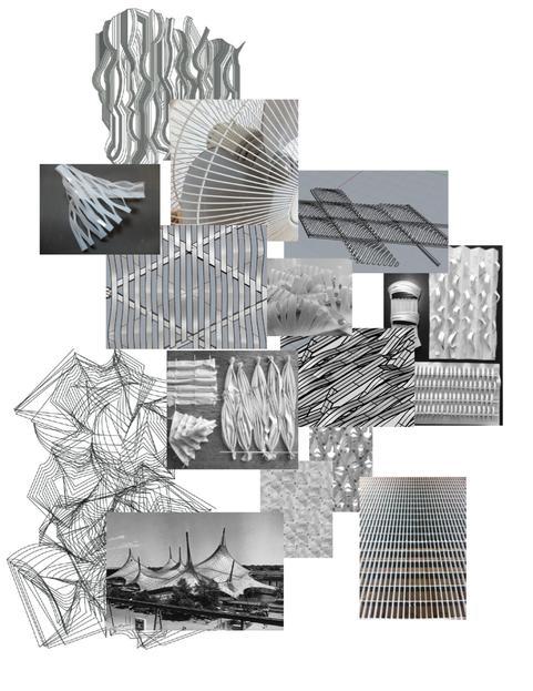 Relief und Struktur Studien Projekt Textonics/Opal