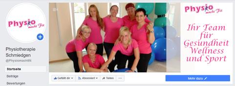Social Media Service Physiotherapie