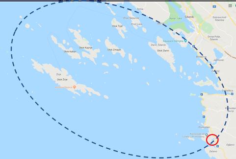 RYA Segel- und Seefahrtschule Kroatien - White Wake Sailing Segelrevier