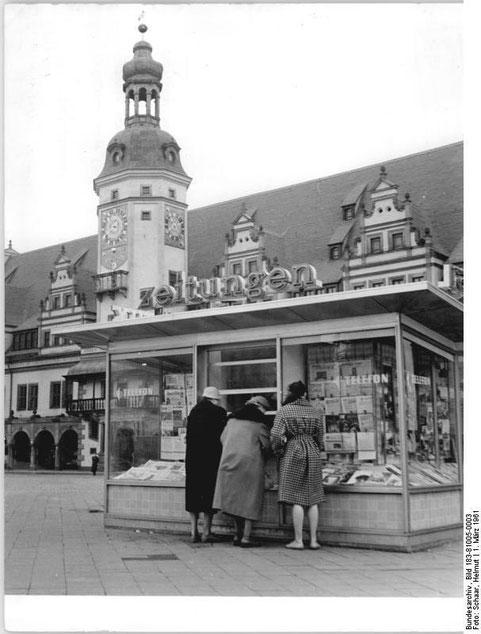 Zeitungskiosk Leipzig