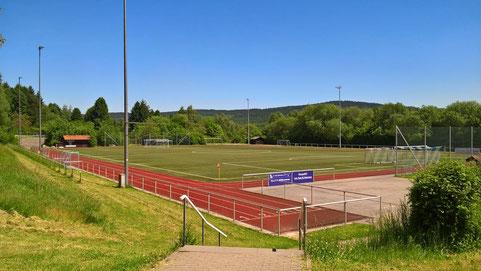 Unserer Sportplatz im Stadion an der Ringstraße (26.05.17)