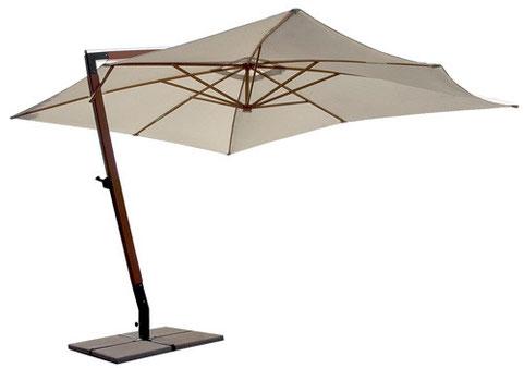ombrellone braccio laterale 4x3 m.