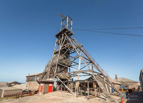 Geevor Tin Mine, Pendeen, Cornwall, England, Industriekultur, Industrie, Zechen, Bergbau, Zinn