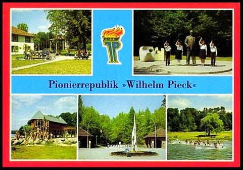 Postkaart  Verlag Bild und Heimat, Reichenbach Vogtländ Werbelinsee Schorfheide 2. collectie auteur.
