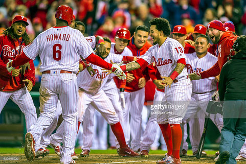 Nella foto i Philadelphia Phillies (Getty images)