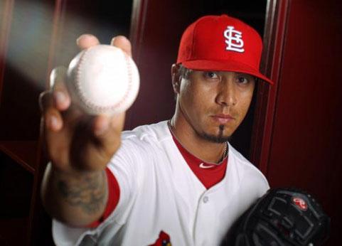 Molti sono tuttora i giocatori di baseball nativi americani. Nella foto Kyle Lohse, pitcher nativo americano con 15 anni di MLB