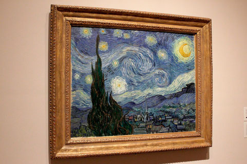 Van Goghs Sternennacht im MoMa New York