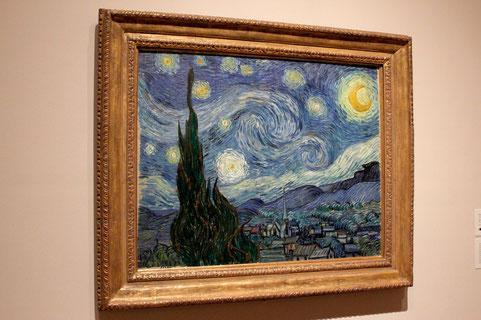 Van Goghs Sternennacht im MoMa New York