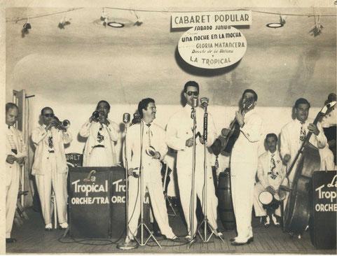 Conjunto Casino, Tampa (Florida) - 1949.