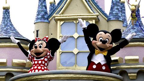 Da hat Corona keine Chance: Schutzmasken bei Disney.
