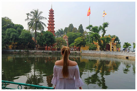 hanoi best places tran quoc pagoda temple