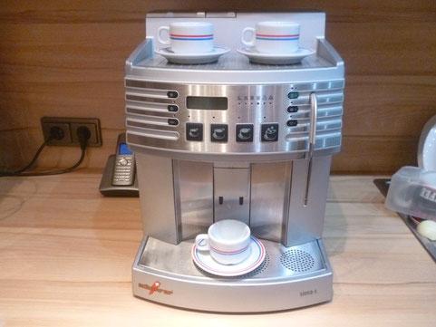Reparatur eines Schaerer Siena-1 Kaffeevollautomaten