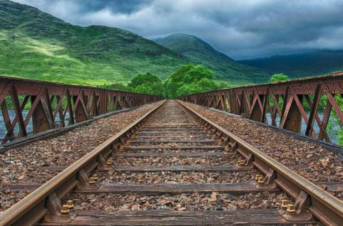 réseau ferroviaire paysage energie