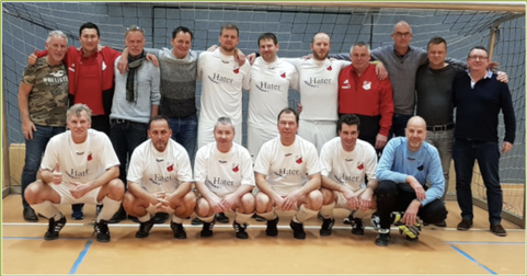 """Die Schermbecker """"Alten Herren"""" des SV Schermbeck"""