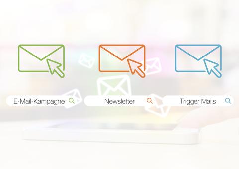 Darstellung der drei Email Formen