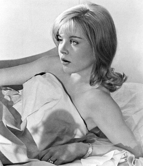 『ロリータ』でロリータ役を演じたスー・リオン(1967年)