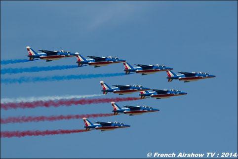 Patrouille de France 2014 CEMAA ba-701 salon de provence BA-701 : CEMAA /Ambassadeurs 2014