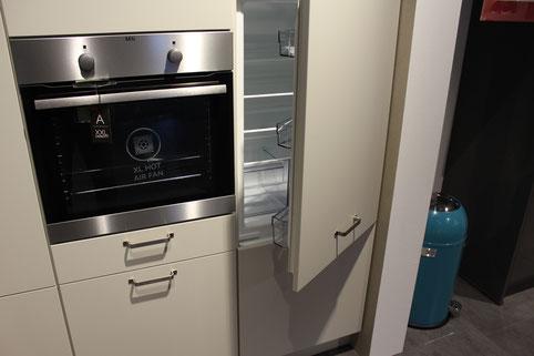 Kühlschranktür einer Einbauküche