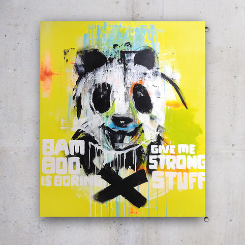Ted Fox Pop Art: Panda
