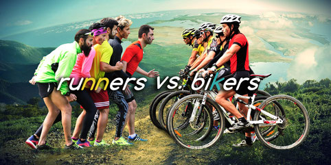 RUNNERS VS. BIKERS - León, 05-03-2017