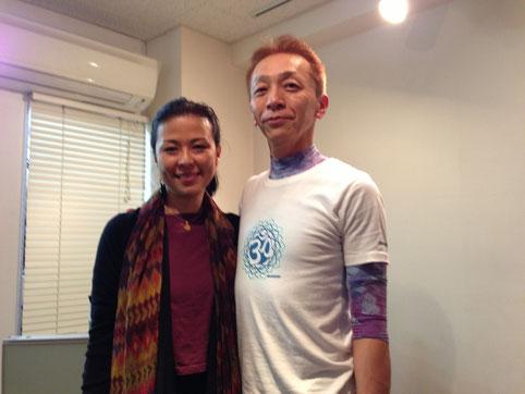 2012年11月 松戸ヨガスタジオbeにマック久美子師が来校