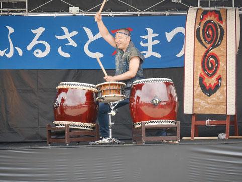 和太鼓 寧鼓座 奈良 鳥見夏祭り
