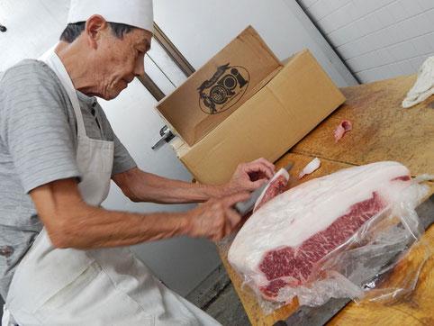 三吉橋通商店街 肉の見上 極上 和牛ステーキ