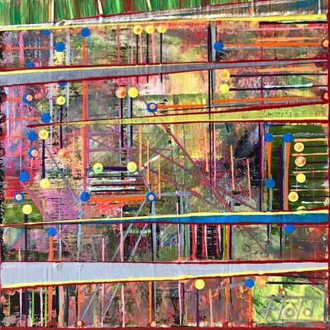 Was es wohl ausdrücken soll? Das erschaffen dauerte Monate mit hunderten von FarbschichtenIch empfehle diesen und alle meine anderen Titel der Werke nachzuschlagen.