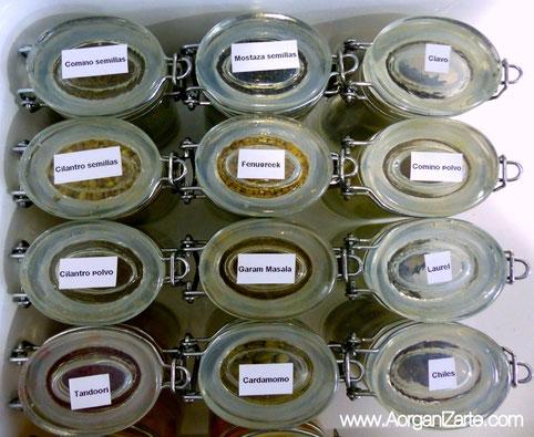 como organizar las especias - AorganiZarte.com