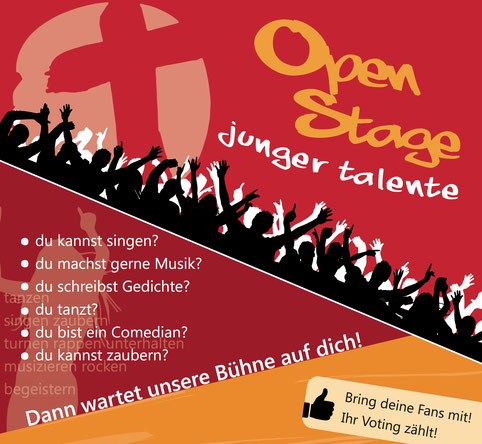 Open Stage 2014 Plakat