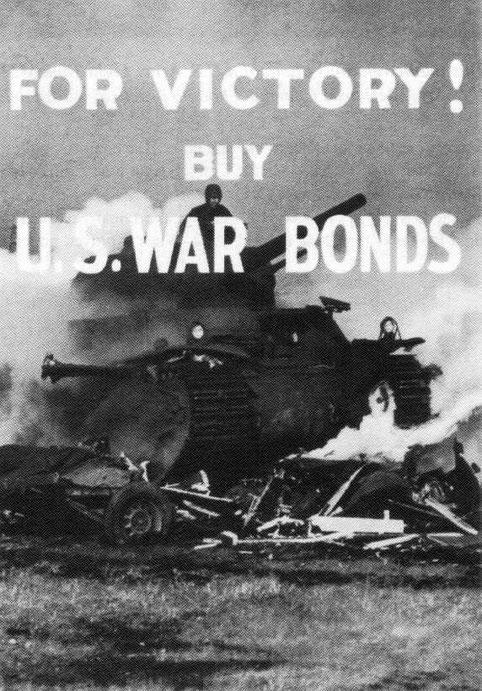 Propagande américaine au profit des bons de guerre