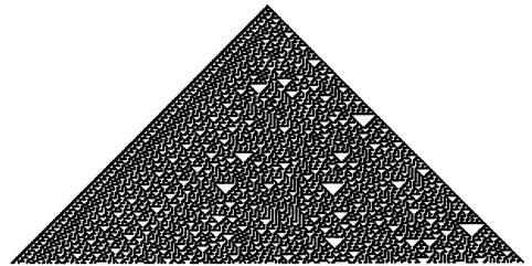Cellular Automaton  Rule Nr. 30