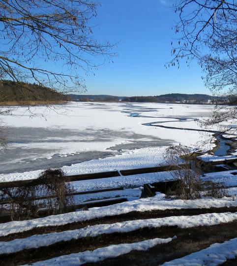 (c) Astrid Maul - Hallertau im Winter, 6. Januar 2015